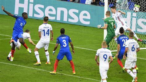 Damit übernahm das team von bundestrainer christian. EM 2016: Frankreich schießt sich gegen Island für ...