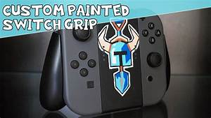 Shovel Knight - Custom Painted Nintendo Switch Comfort Grip