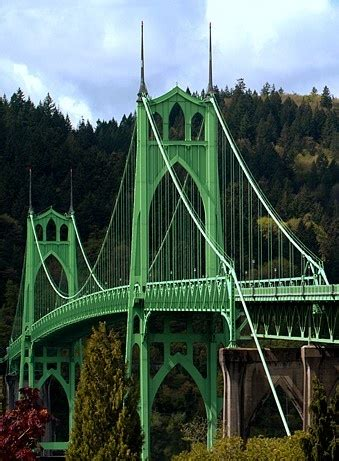 St. Johns Bridge Oregon
