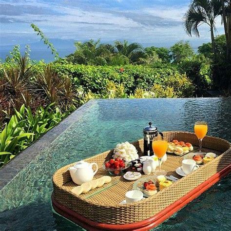 good morning sunshine floating sunday brunch  paradise