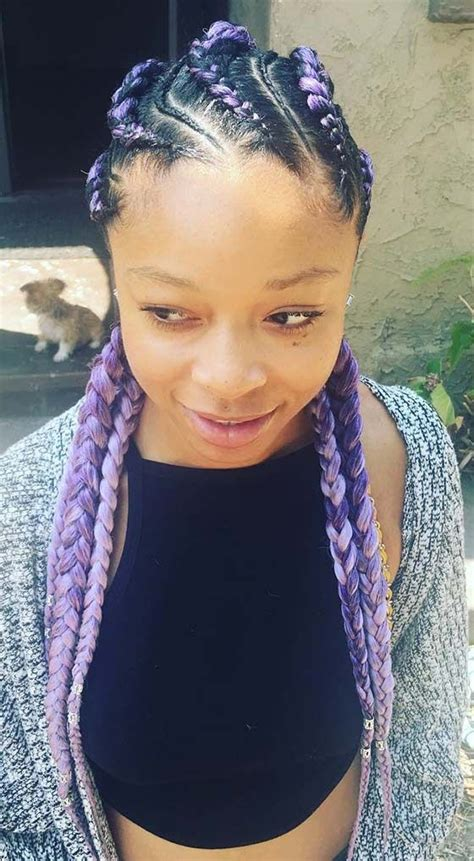 41 cute and chic cornrow braids hairstyles summer hair