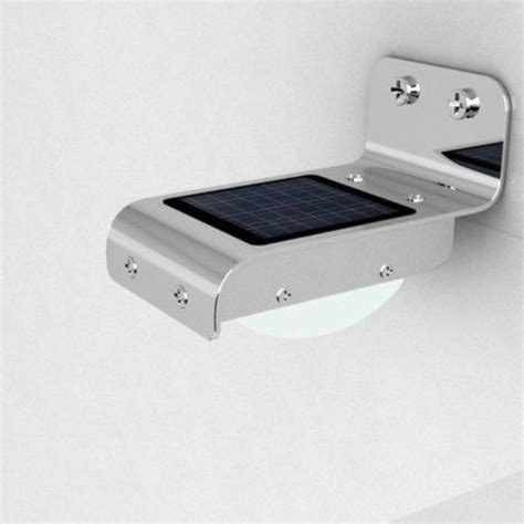 solar power 16 led security l motion sensor light