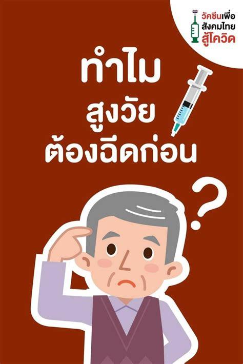 ทำไมผู้สูงวัย ต้องฉีดวัคซีนก่อน?