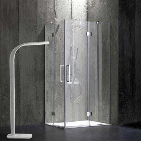 cabina doccia senza telaio  cristallo trasparente