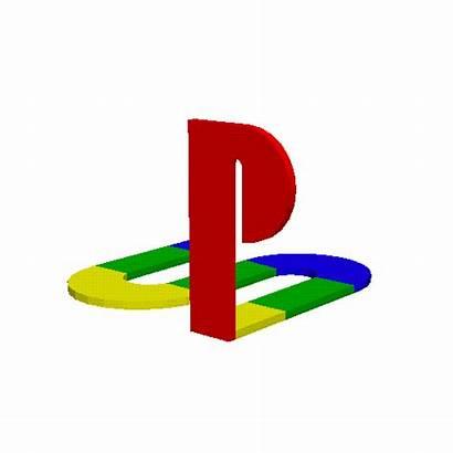 Playstation Animated Transparent Spinning Symbol Animation Gifs