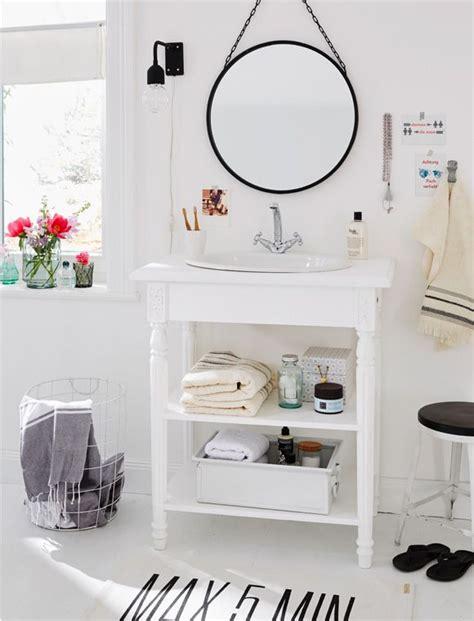 dekoration für badezimmer der wei 223 e waschtisch landhaus kann als einzel oder