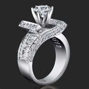 marquise engagement ring settings crossover ribbon style clear baguette and engagement ring bbr4549