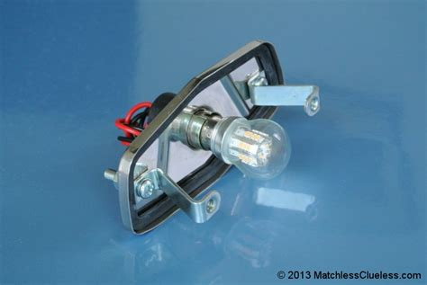 12v Lucas 525 Led Stop And Tail Light • Matchless Clueless