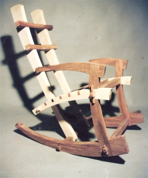 japanese rocking chair   time   build