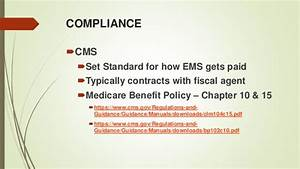 Medicare Benefit Policy Manual Chapter 4