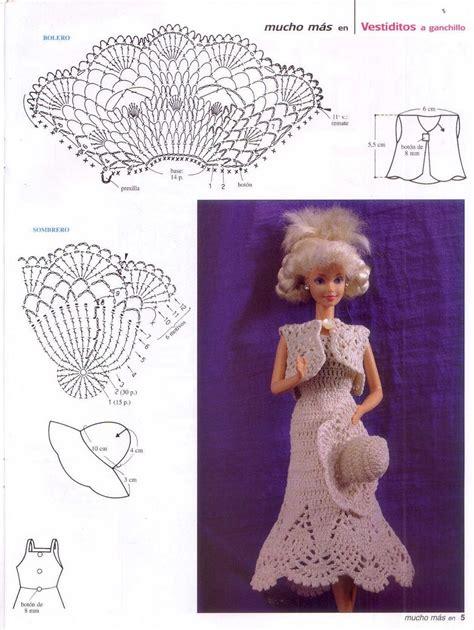 toda una senorita vestido  ganchillo  barbie crochet kingdom