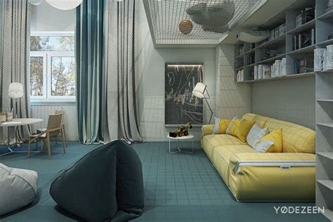 A Friendly Apartment Design With Lots Of Playful Features by A Friendly Apartment Design With Lots Of Playful