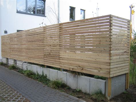 Projekt Sichtschutzzaun Aus Rhombusleisten Holzservice24
