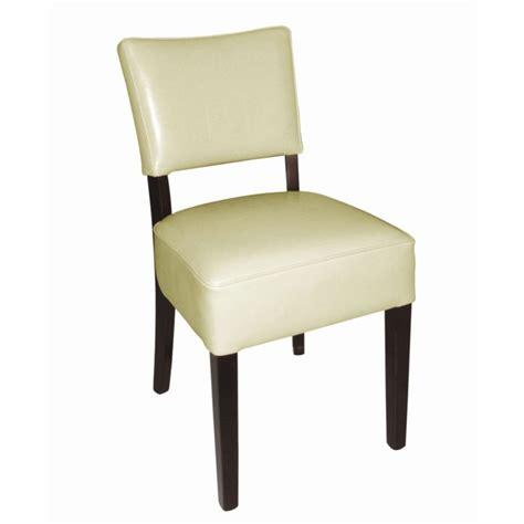 chaises simili cuir chaises en simili cuir crème resto gastromastro sas