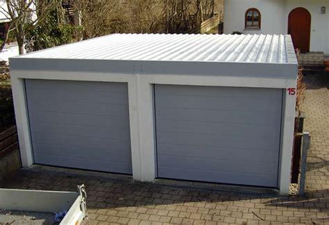 Das Garagenpultdach Von Zapf Zur Sanierung Und