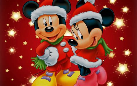 merry christmas wallpaper mickey mickey mouse christmas wallpapers wallpaper cave