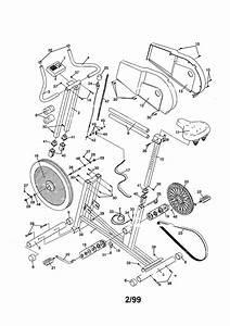 Proform Model 831288220 Cycle Genuine Parts