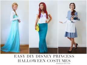 Disney Princess DIY Halloween Costumes