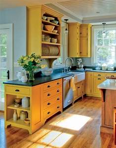 17 best ideas about yellow kitchen walls on pinterest With best brand of paint for kitchen cabinets with h decor wall art