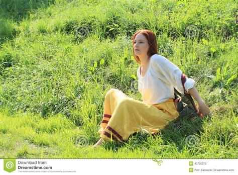 Seductive Girl Stock Image Image Of Brunette White