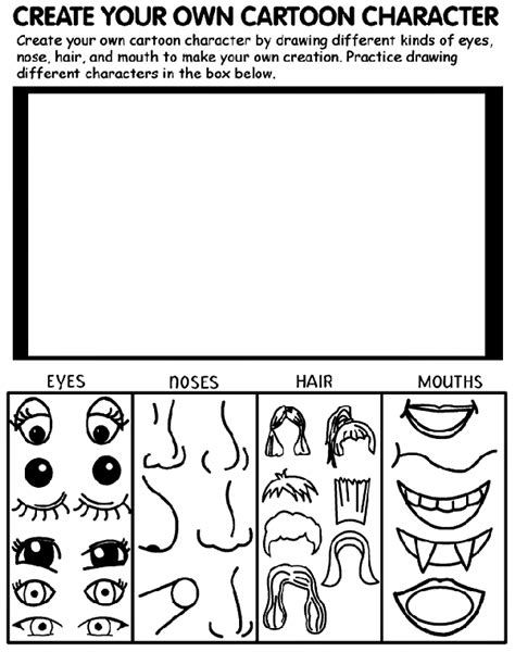 create   character cartoon coloring page crayolacom