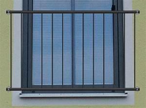 Franzsischer Balkon QuotBasicquot Pulverbeschichtet Kaufen