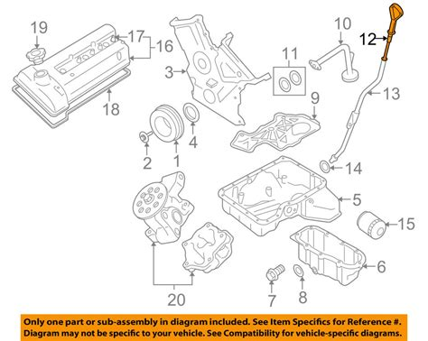 Suzuki Grand Vitara Engine Diagram by Suzuki Oem 06 08 Grand Vitara 2 7l V6 Engine Fluid