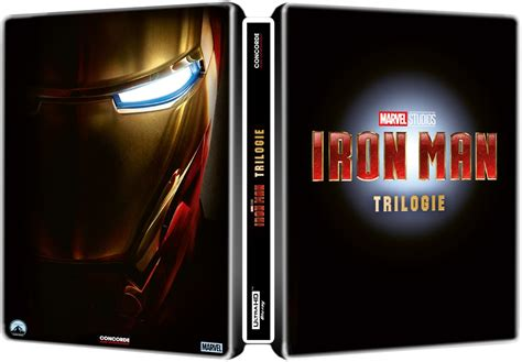 iron man trilogy  steelbook germany page  blu ray