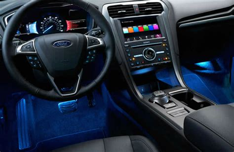 ford fusion 2017 interior 2017 ford fusion interior with accent lighting 2017