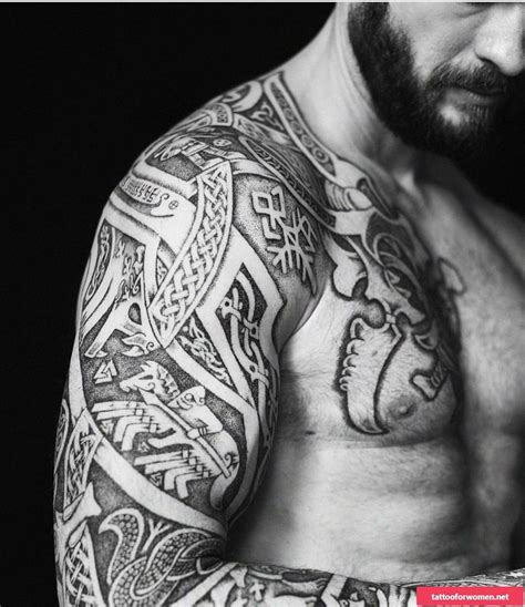 viking tattoo meaning discover  secrets  norse