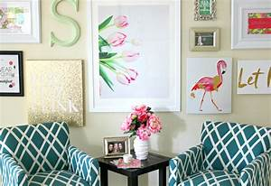 Lilly Pulitzer Inspired Wall Art Collage Diary Of A