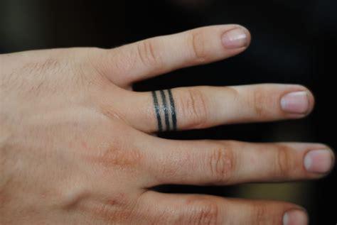 finger tattoos  men improb
