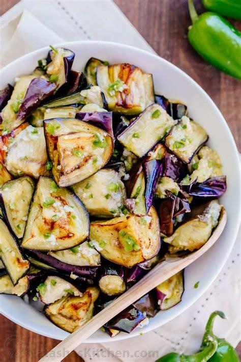 eggplant recipes spicy eggplant recipe ogoniok natashaskitchen com