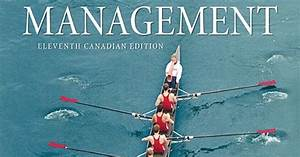 Test Bank For Management  11th Canadian E By Robbins