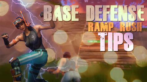 fortnite defending ramp rush   win tips  youtube