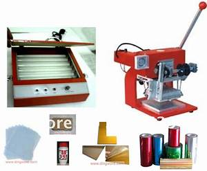small hot foil stamping machine start up complete package With letter printing machine
