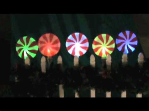 peppermint christmas pathway lights youtube