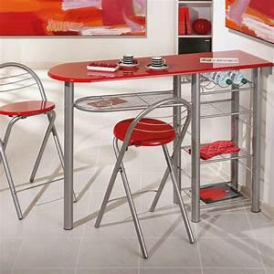 Photo Table De Bar Cuisine