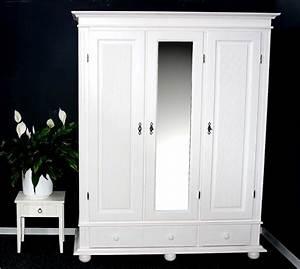 Holz Weiß Streichen : garderoben schrank dielenschrank kleiderschrank flurschrank holz massiv wei ebay ~ Markanthonyermac.com Haus und Dekorationen