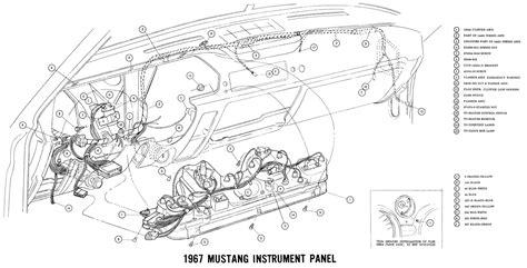 mustang wiring  vacuum diagrams archives average joe restoration