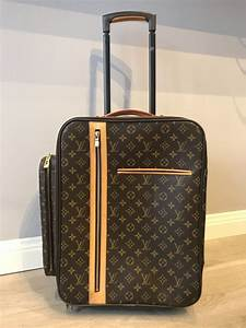 4d803768d2aa louis vuitton monogram canvas bosphore trolley rolling luggage travel bag  catawiki
