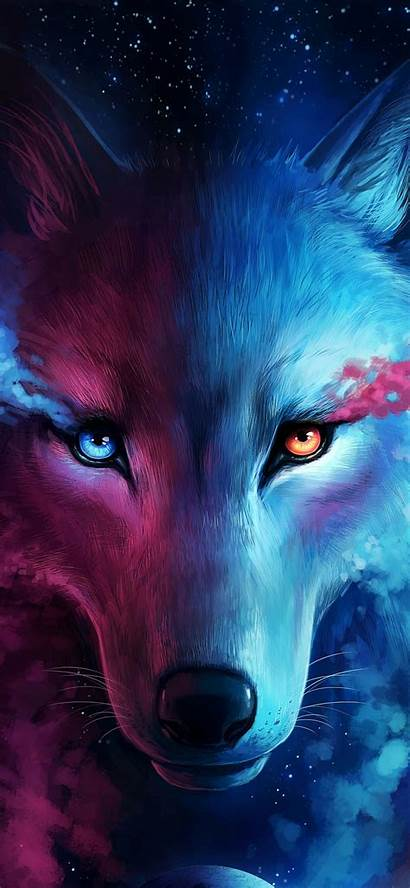 Cool Wallpapers Wolf Galaxy Backgrounds Phone Aesthetic