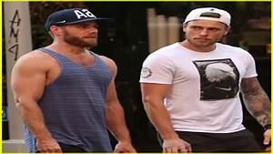 Gus Kenworthy  U0026 Boyfriend Matthew Wilkas Show Off Their Muscles In Nyc