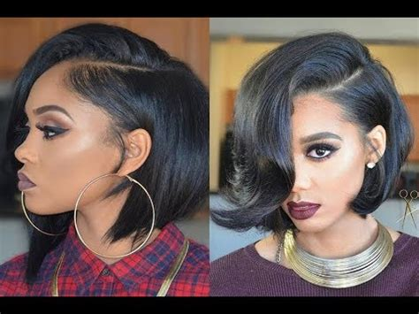 cute short bob hairstyles  haircuts  black women