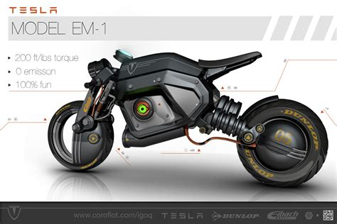 tesla concept motorcycle tesla concept street bike igor sobolevsky