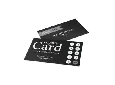 loyalty card templates mycreativeshop
