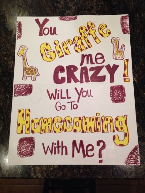 cute hoco proposal promposals homecoming proposal