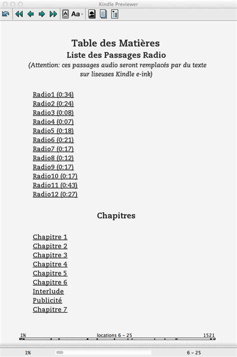 Modifier un EPUB pour conversion Kindle | Jiminy Panoz