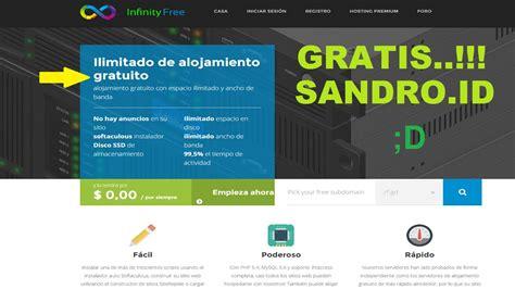 subir pagina web infinity  crea tu cuenta  host