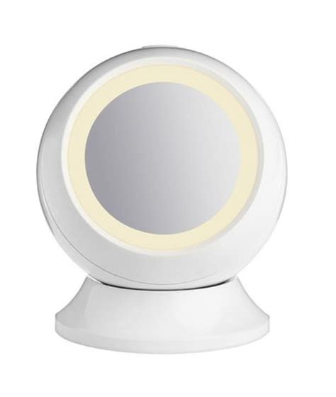 reflections led lighted collection mirror conair consumer product inc reflections storage collection